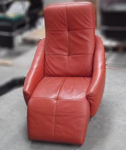 08190 Leather relaxation chair