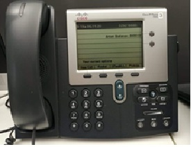 92330 Телефонен апарат Cisco IP Phone 7941G (SCCP and SIP versions)