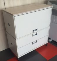 43725 Steelcase FLEX BOX modular storage system