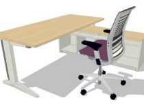 21865 Operational desk Steelcase  Fusion