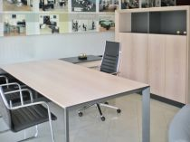 02049 Executive desk - Wood ORT