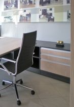 02050 Executive office desk - Wood ORT