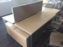 73076 Бенч бюро с преграда Steelcase