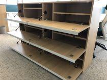 64043 Персонални багажни шкафчета за офиси Narbutas