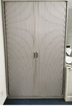 92081 Cabinet with roller doors Steelcase
