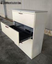 04434 Метален шкаф картотека за висящи папки SteelCase