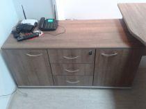 48762 Шкаф с 3 чекмеджета централно закл.и две врати Offisphera