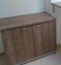 48764 Кухненски шкаф долен ред с две врати и рафт Offisphera